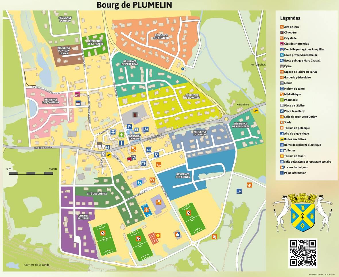 Plan du bourg